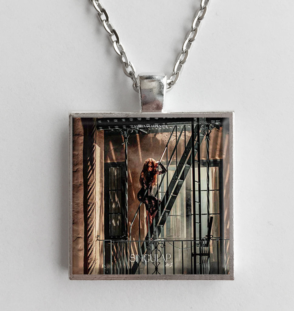 Sabrina Carpenter - Singular Act II - Album Cover Art Pendant Necklace