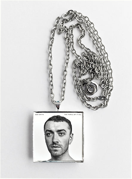 Sam Smith - The Thrill of It All - Album Cover Art Pendant Necklace - Hollee