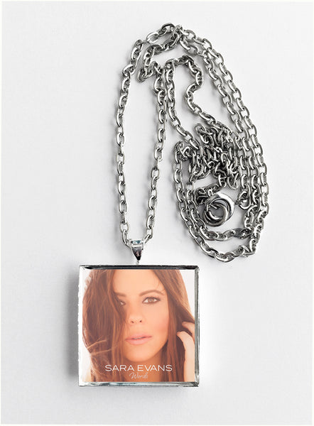 Sara Evans - Words - Album Cover Art Pendant Necklace - Hollee