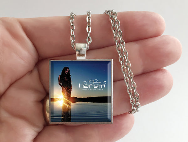 Sarah Brightman - Harem - Album Cover Art Pendant Necklace - Hollee