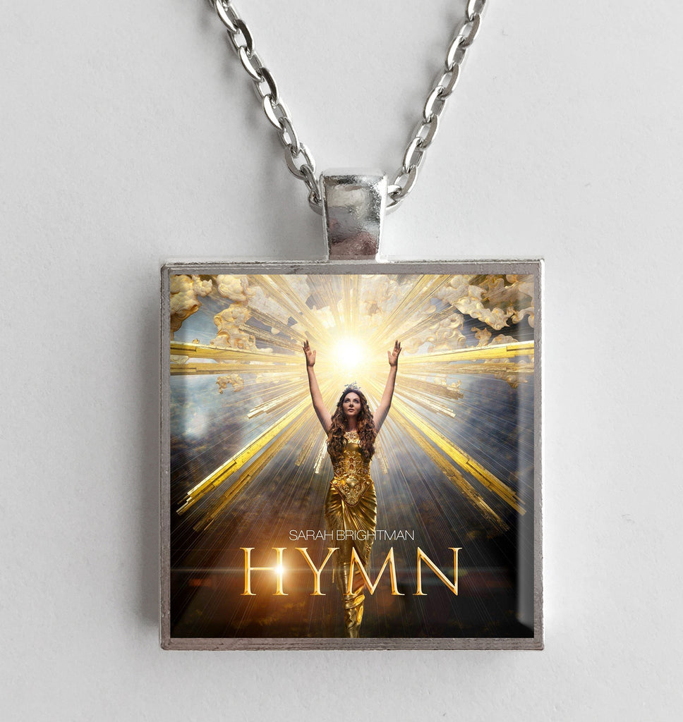 Sarah Brightman - Hymn - Album Cover Art Pendant Necklace - Hollee