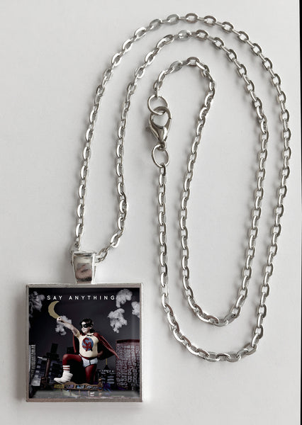 Say Anything - Self Titled - Album Cover Art Pendant Necklace - Hollee