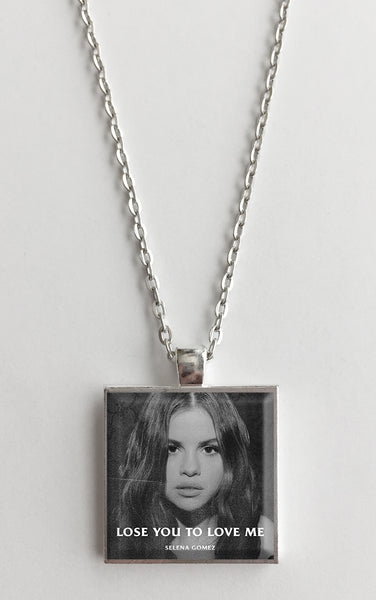 Selena Gomez - Lose You to Love Me - Album Cover Art Pendant Necklace - Hollee