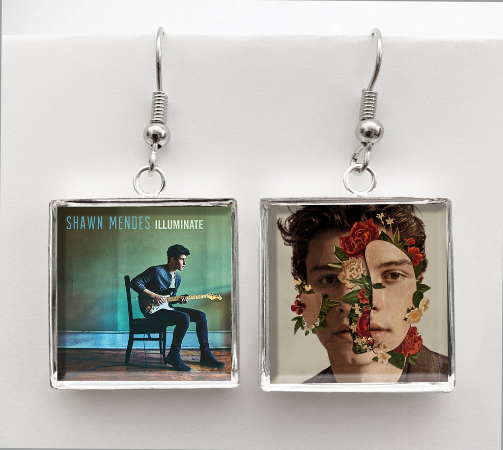 Shawn Mendes - Illuminate & The Album - Album Cover Art Earrings - Hollee