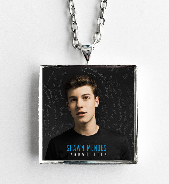 Shawn Mendes - Handwritten - Album Cover Art Pendant Necklace - Hollee