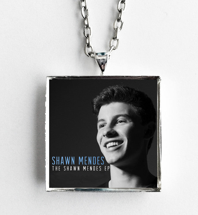 Shawn Mendes - EP - Album Cover Art Pendant Necklace