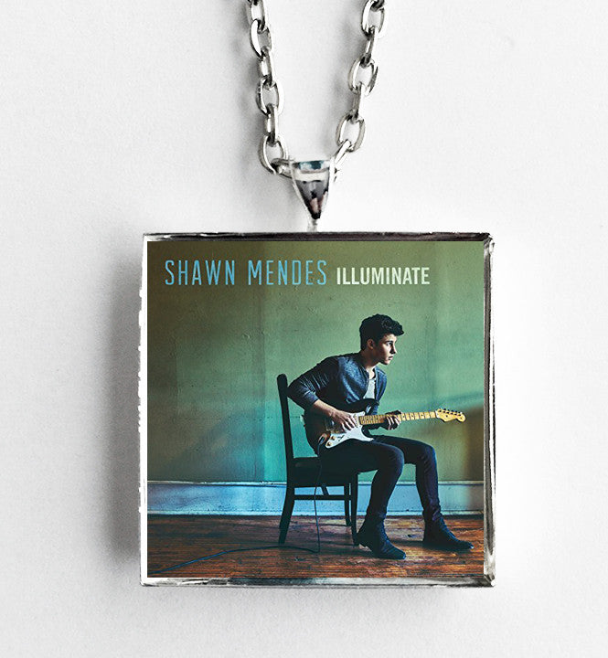 Shawn Mendes - Illuminate - Album Cover Art Pendant Necklace - Hollee