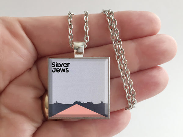 Silver Jews - American Water - Album Cover Art Pendant Necklace - Hollee
