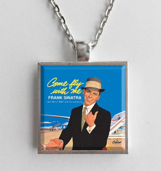 Frank Sinatra - Come Fly With Me - Album Cover Art Pendant Necklace - Hollee