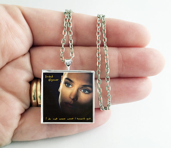 Sinead O'Connor - I Do Not Want What I Haven't Got - Album Cover Art Pendant Necklace