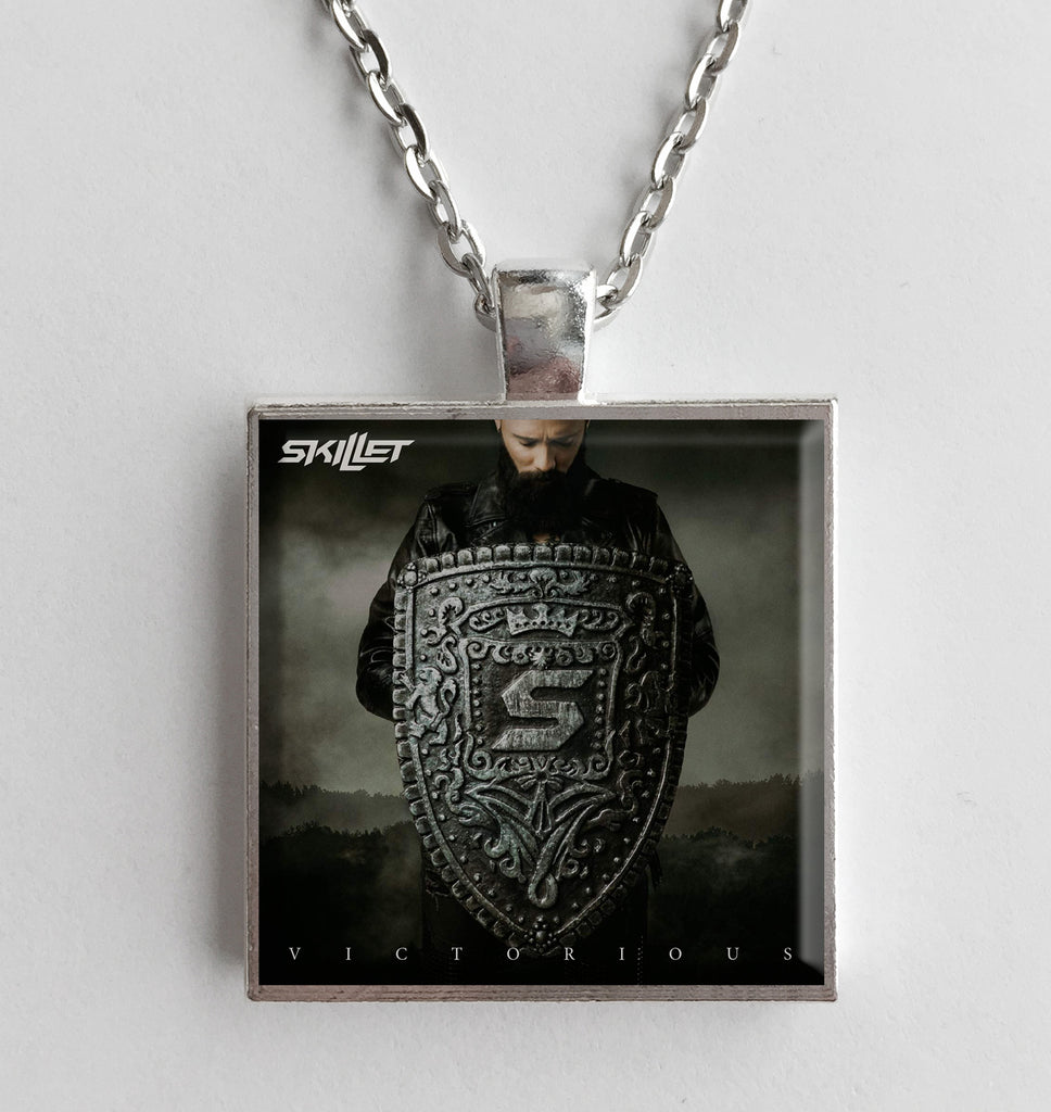 Skillet - Victorious - Album Cover Art Pendant Necklace - Hollee