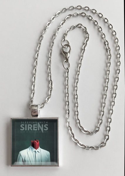 Sleeping with Sirens - How It Feels to be Lost - Album Cover Art Pendant Necklace