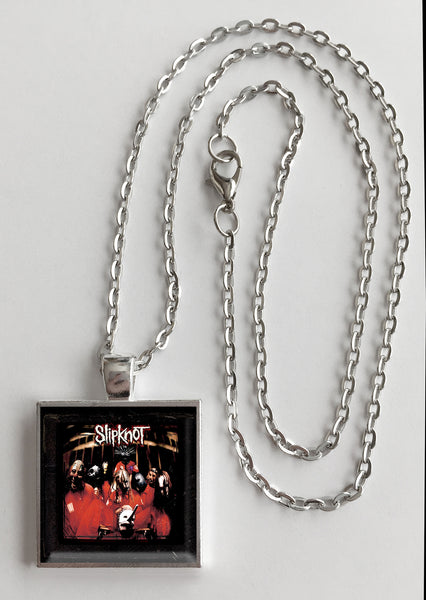 Slipknot - Self Titled - Album Cover Art Pendant Necklace - Hollee