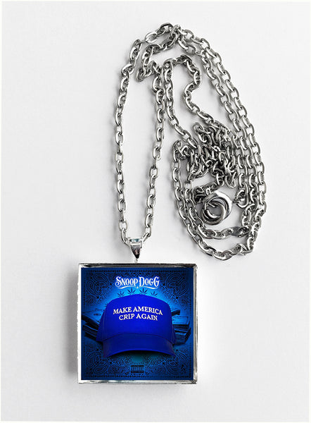 Snoop Dogg - Make America Cripp Again - Album Cover Art Pendant Necklace