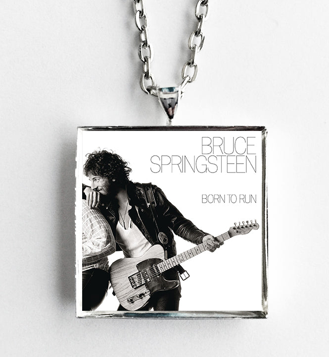 Bruce Springsteen - Born to Run - Album Cover Art Pendant Necklace - Hollee