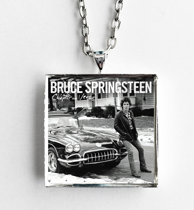 Bruce Springsteen - Chapter and Verse - Album Cover Art Pendant Necklace