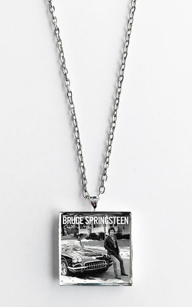 Bruce Springsteen - Chapter and Verse - Album Cover Art Pendant Necklace - Hollee