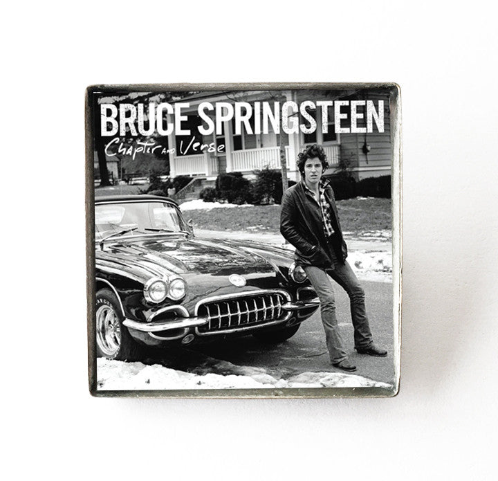 Bruce Springsteen - Chapter and Verse - Album Cover Art Pin - Hollee