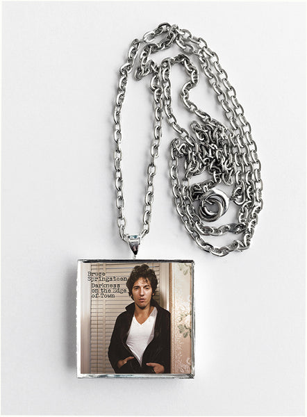 Bruce Springsteen - Darkness on the Edge of Town - Album Cover Art Pendant Necklace - Hollee