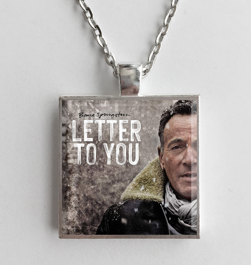 Bruce Springsteen - Letter to You - Album Cover Art Pendant Necklace