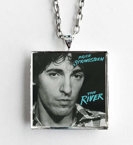 Bruce Springsteen - The River - Album Cover Art Pendant Necklace - Hollee