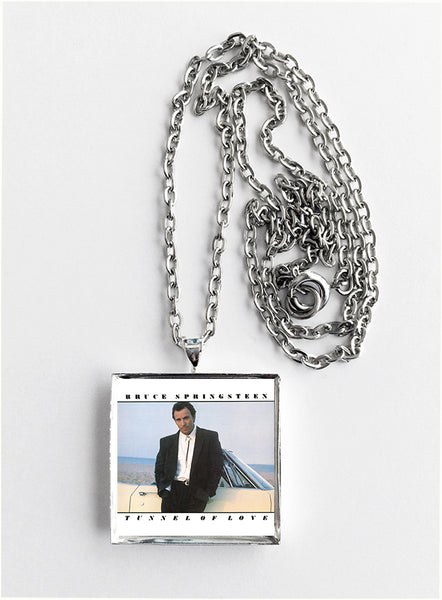 Bruce Springsteen - Tunnel of Love - Album Cover Art Pendant Necklace - Hollee