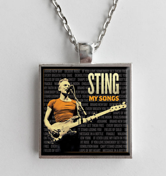 Sting - My Songs - Album Cover Art Pendant Necklace - Hollee