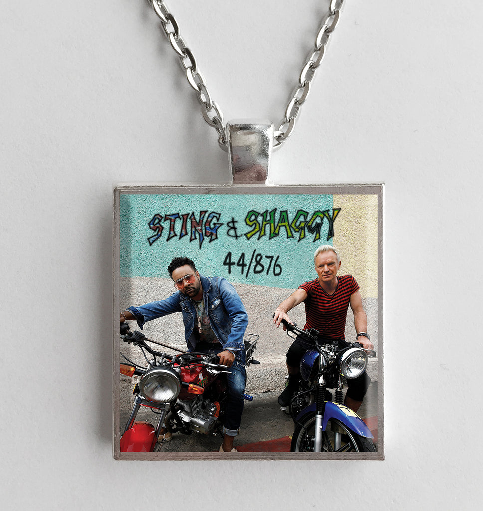 Sting & Shaggy - 44/876 - Album Cover Art Pendant Necklace - Hollee