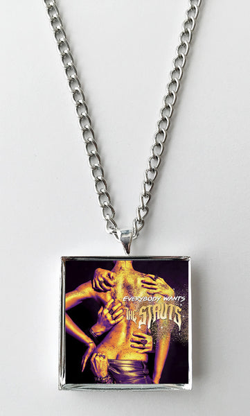 The Struts - Everybody Wants - Album Cover Art Pendant Necklace - Hollee