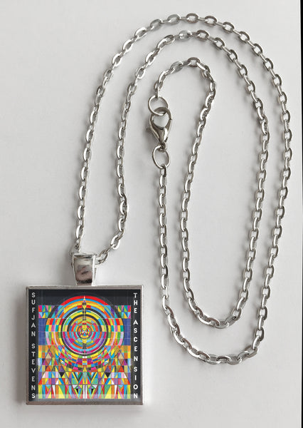Sufjan Stevens - The Ascension - Album Cover Art Pendant Necklace