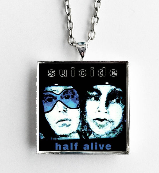 Suicide - Half Alive - Album Cover Art Pendant Necklace - Hollee
