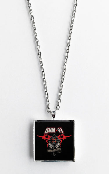 Sum 41 - 13 Voices - Album Cover Art Pendant Necklace