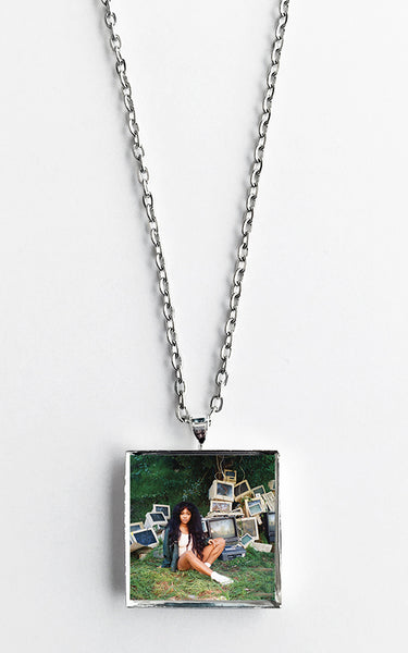 SZA - Ctrl - Album Cover Art Pendant Necklace - Hollee