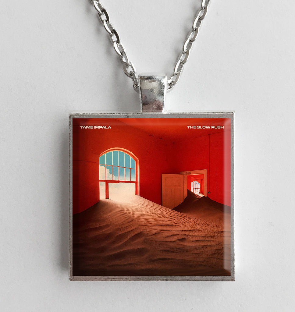 Tame Impala - Slow Rush - Album Cover Art Pendant Necklace - Hollee
