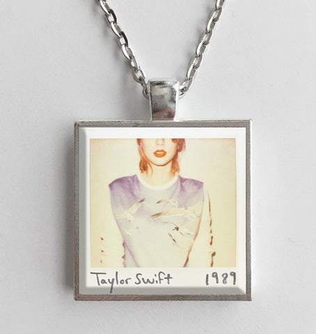 Taylor Swift - 1989 - Album Cover Art Pendant Necklace - Hollee