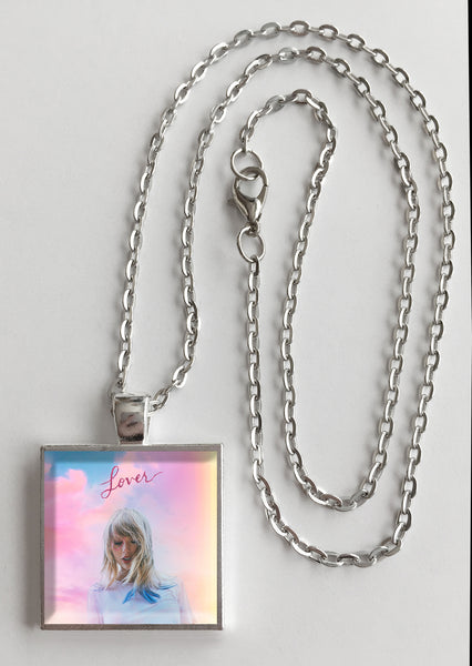 Taylor Swift - Lover - Album Cover Art Pendant Necklace - Hollee