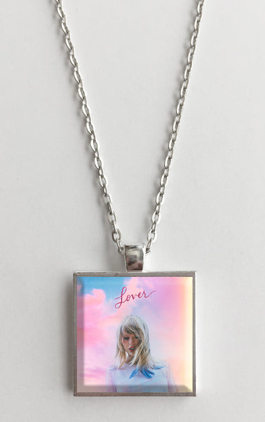 Taylor Swift - Lover - Album Cover Art Pendant Necklace