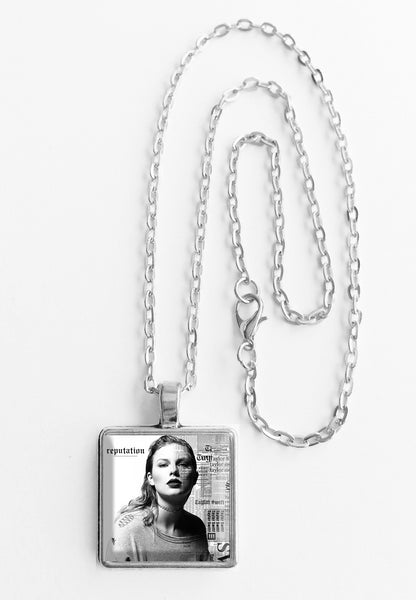 Taylor Swift - Reputation - Mini Album Cover Art Pendant Necklace - Hollee