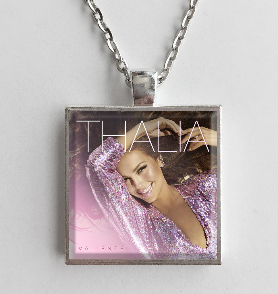 Thalia - Valiente - Album Cover Art Pendant Necklace - Hollee