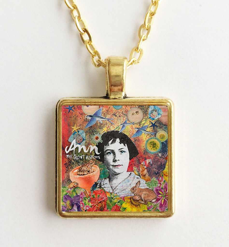 The Front Bottoms - Ann - Album Cover Art Pendant Necklace - Hollee