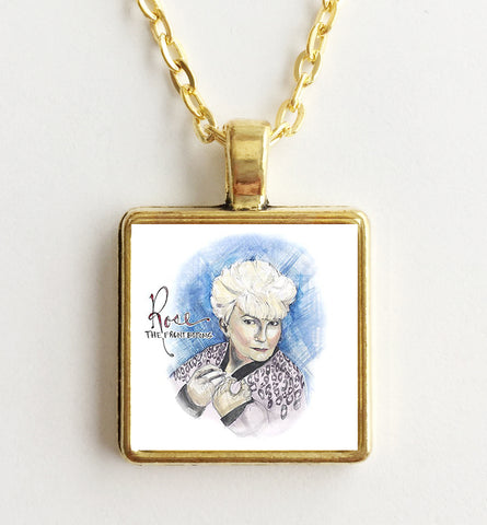 The Front Bottoms - Rose - Album Cover Art Pendant Necklace - Hollee