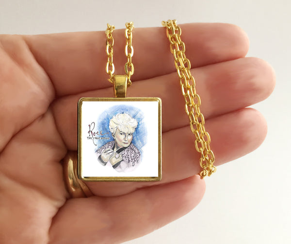The Front Bottoms - Rose - Album Cover Art Pendant Necklace