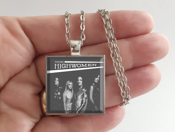 The Highwomen - Self Titled - Album Cover Art Pendant Necklace - Hollee