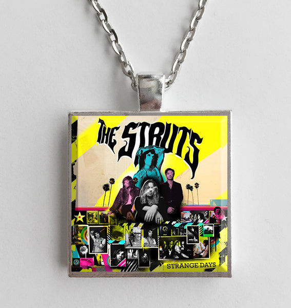 The Struts - Strange Days - Album Cover Art Pendant Necklace