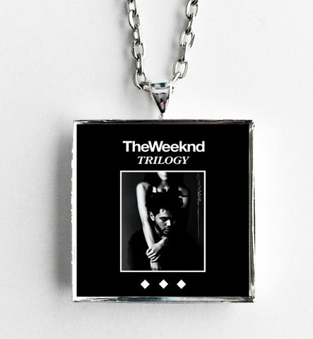 The Weeknd - Trilogy - Album Cover Art Pendant Necklace - Hollee