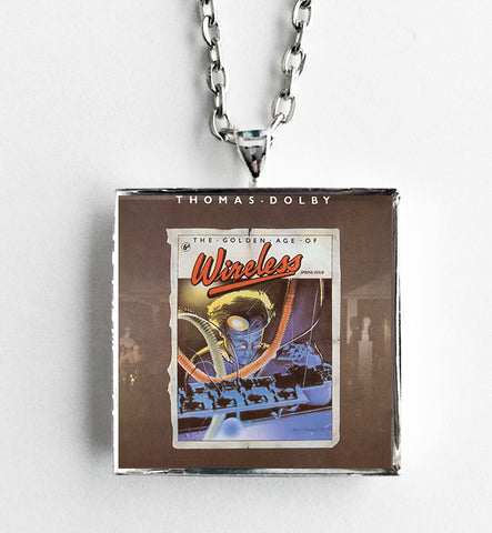 Thomas Dolby - The Golden Age of Wireless - Album Cover Art Pendant Necklace - Hollee