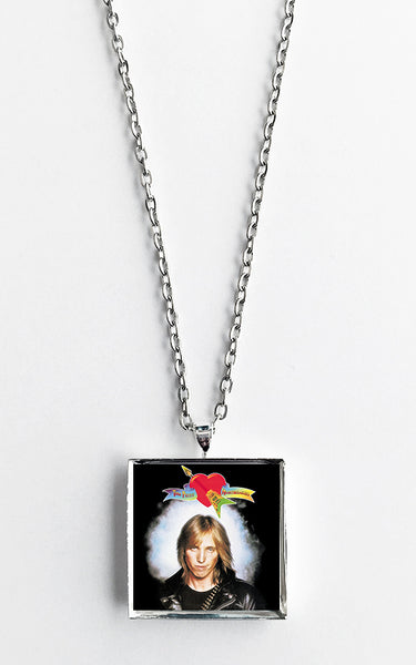 Tom Petty and The Heartbreakers - Self Titled - Album Cover Art Pendant Necklace - Hollee