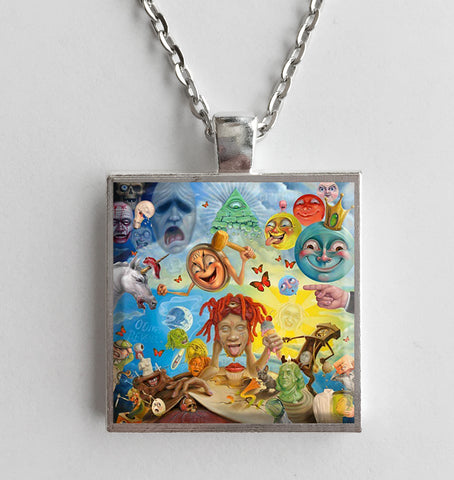 Trippie Redd - Life's a Trip - Album Cover Art Pendant Necklace - Hollee