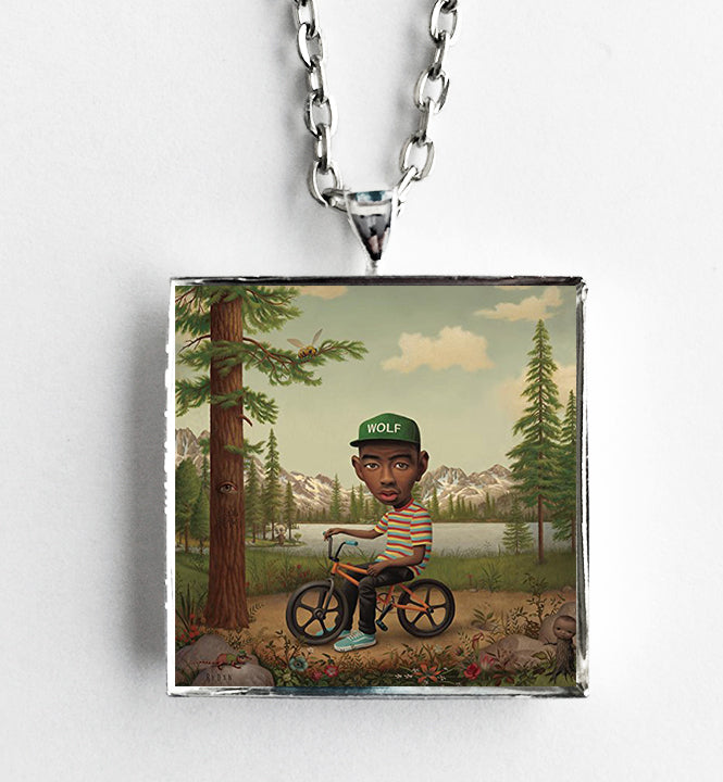 Tyler the Creator - Wolf - Album Cover Art Pendant Necklace