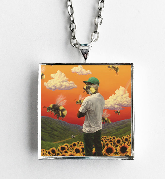 Tyler the Creator - Flower Boy - Album Cover Art Pendant Necklace
